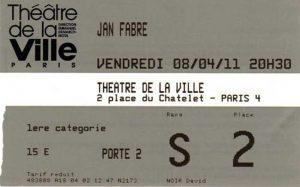 Prometheus_JanFabre_Théâtre de la Ville