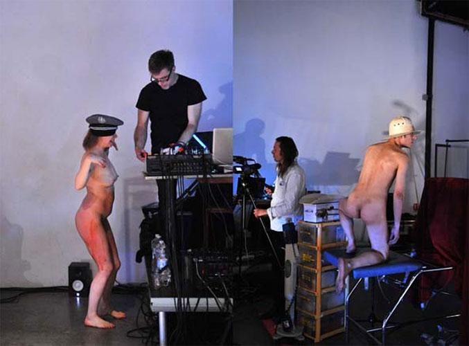 Guillaume Junot - Valérie Brancq - Jérôme Allart - David Noir - La Toison dort- Photo Karine Lhémon