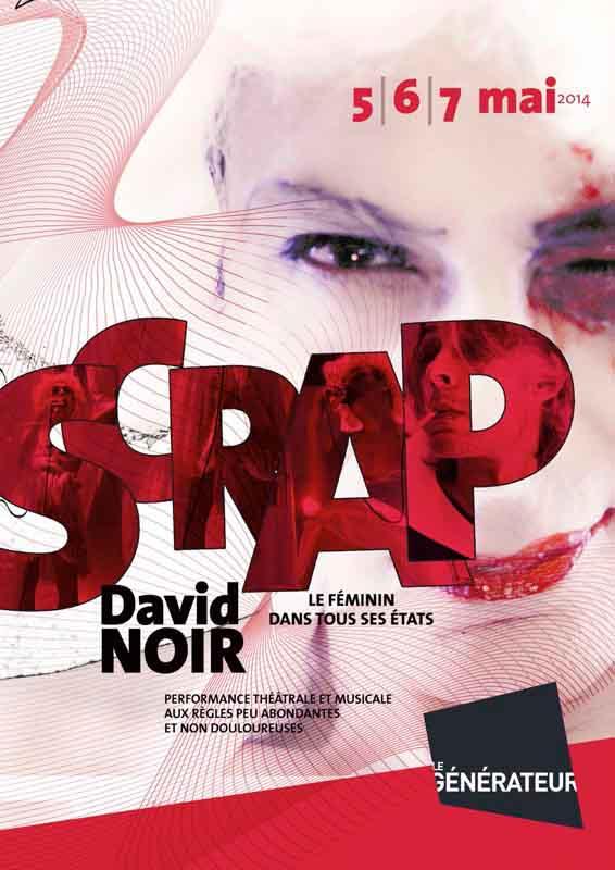 Affiche Scrap _ Graphisme Birgit Brendgen
