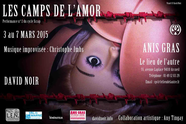 David Noir - Les camps de l'Amor - Anis Gras