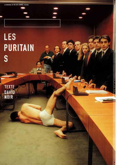 Les Puritains de David Noir - Affiche Filifox - Philippe Savoir - Photo Karine Lhémon