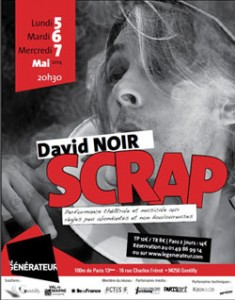 David Noir - SCRAP - Visuel Birgit Brengden