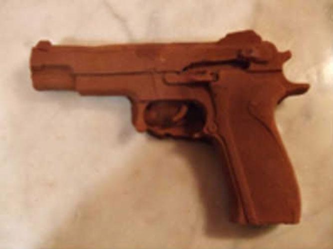 David Noir - Revolver en chocolat