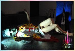 David Noir - Frankenstein templier - La Toison dort - Le Générateur - Photo Karine Lhémon