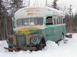 Bus de Christopher Johnson McCandless