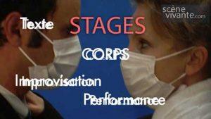 David Noir - Scène Vivante - Stages
