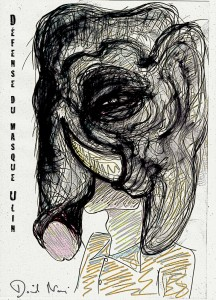 David Noir-#frasq-Défense du masque Ulin