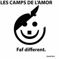 "Autoportrait en Apple führer © David Noir - ""Les Camps de l'Amor""."