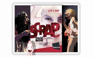 """""""Scrap"""" au Générateur - David Noir - Affiche Birgit Brendgen"""