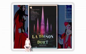 """""""La Toison dort"""" au Générateur - David Noir - Affiche Filifox - Philippe Savoir"""