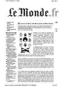 """""""Les Justes-story"""" vu par Le Monde.fr"""