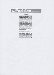 """""""Les Puritains"""" vu par Le Parisien"""