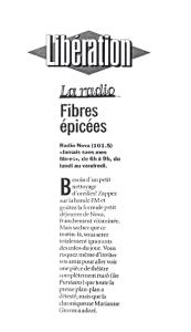 """""""Les Puritains"""" vu par Libération"""
