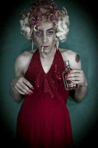 David noir - une bouteille à la mère